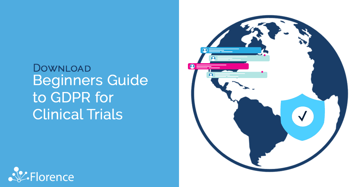 Beginners Guide to Global Data Protection Regulation (GDPR) for Clinical Trials