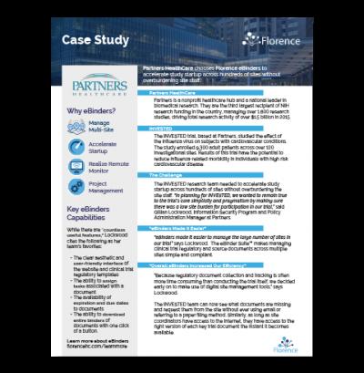 Partners Healthcare Case Study