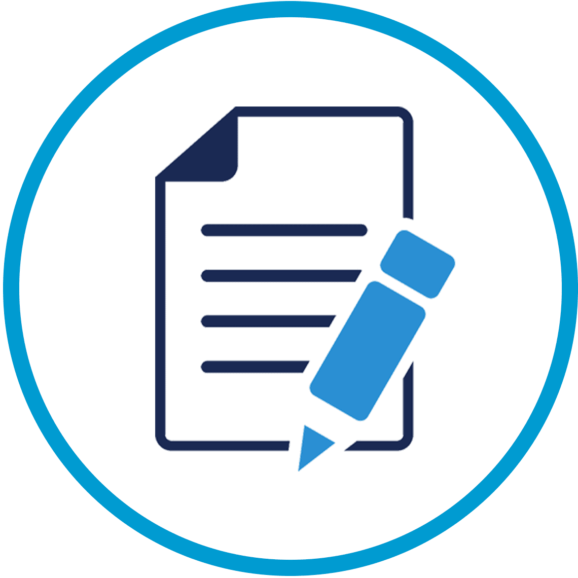 Clinical Trials Electronic Fillable Forms Icon