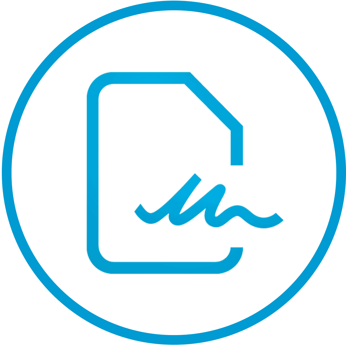 Clinical Trials Electronic Signatures Icon