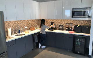 Florence Atlanta Headquarters Kitchen